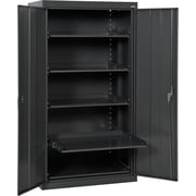 Sandusky Pull Out Tray Shelves Storage, Black