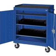 Sandusky Mobile Tablet Cart, Blue
