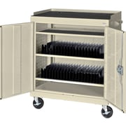 Sandusky Mobile Tablet Cart, Putty