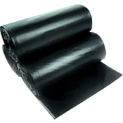 "Heritage High-Density Can Liners, 12-16 Gallons, 8 mic./0.31 mil., Black, 24"" x 33"", 1,000/Ct"