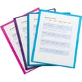 Staples® 2-Pocket Poly View Folder, Assorted Colors