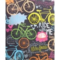 Staples® 2-Pocket Poly Folder, Bikes