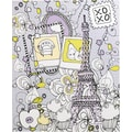 Staples® 2-Pocket Paper Folder, Eiffel Tower