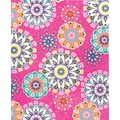 Staples® 2-Pocket Paper Folder, Pink Paisley