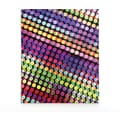 Staples® 2-Pocket Paper Folder, Multicolored Dots
