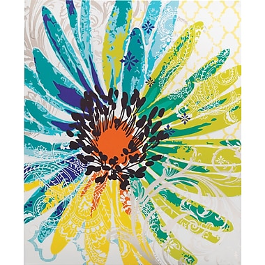 Staples® 2-Pocket Poly Folder, Flower