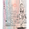 Staples® 2-Pocket Poly Folder, City Girl