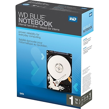 WD Scorpio Blue 1TB SATA 3.0 (3 Gb/s) 5400 RPM 2.5in. Laptop Internal Hard Drive
