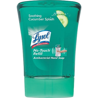 Lysol® No-Touch® Hand Soap Refill, Cucumber Splash, 8.5 oz.