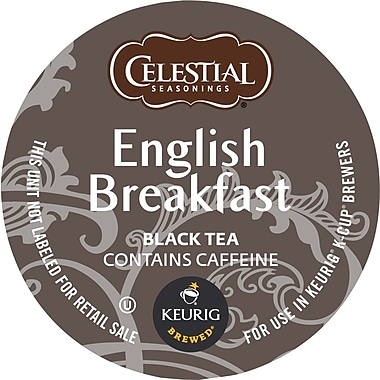 Keurig® K-Cup® Celestial Seasonings® English Breakfast Tea, Regular, 18 Pack