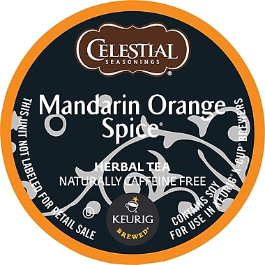 Keurig® K-Cup® Celestial Seasonings® Mandarin Orange Spice Tea, 24/Pack