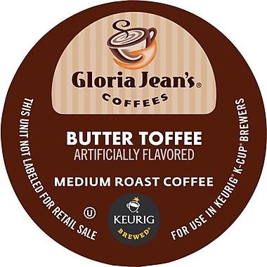 Keurig® K-Cup® Gloria Jean's® Butter Toffee Coffee, Regular, 24 Pack
