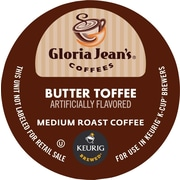 Keurig® K-Cup® Gloria Jean's® Butter Toffee Coffee, Regular, 18 Pack