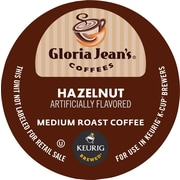 Keurig® K-Cup® Gloria Jean's® Hazelnut Coffee, Regular, 18 Pack