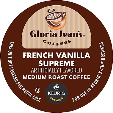 Keurig® K-Cup® Gloria Jean's® French Vanilla Supreme Coffee, Regular, 24/Pack