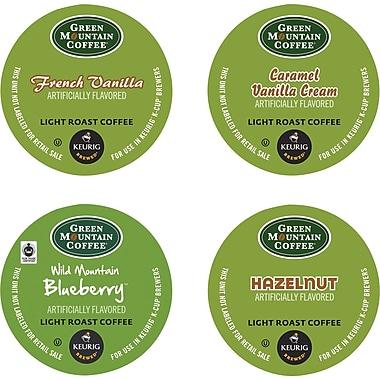 Keurig® K-Cup® Green Mountain® Flavored Coffee Variety Sampler, Regular, 22 Pack