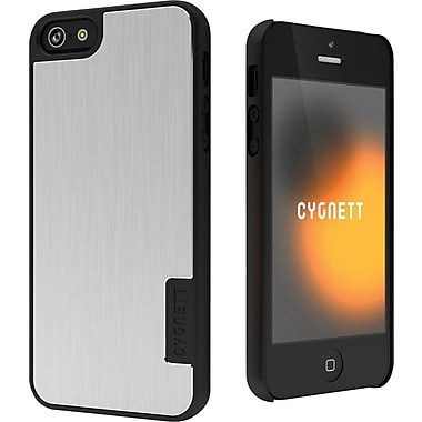 Cygnett Silver UrbanShield Aluminium case for iPhone 5
