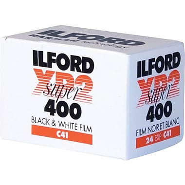Ilford 1839584 XP2 Super Black & White Film, 35 mm(W)