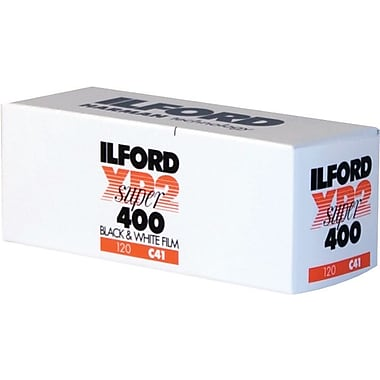 Ilford 1839649 XP2 Super Black & White Film, 120 mm(W)