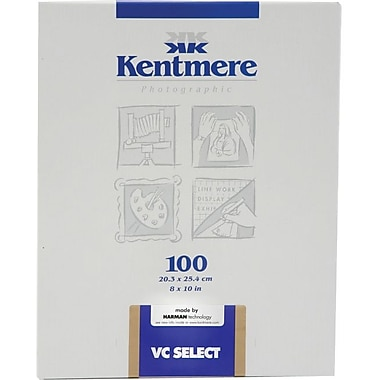 Kentmere 6008071 Variable Contrast Photo Paper, 8in.(W) x 10in.(L), Fine Luster, 100 Sheets