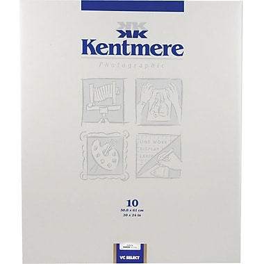 Kentmere 6010498 Variable Contrast Photo Paper, 20in.(W) x 24in.(L), Gloss, 10 Sheets