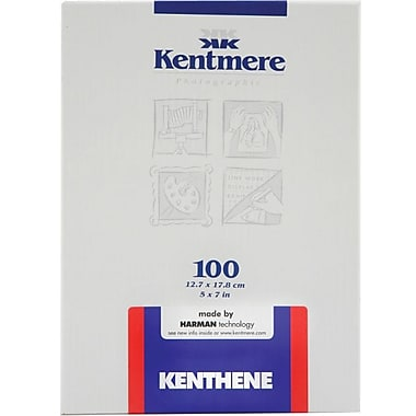 Kentmere 6012544 Neutral Photo Paper, 5in.(W) x 7in.(L), Gloss, 100 Sheets