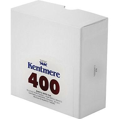 Kentmere 6012599 Black & White Cut Length Film, 35 mm(W) x 100'(L), ISO 400
