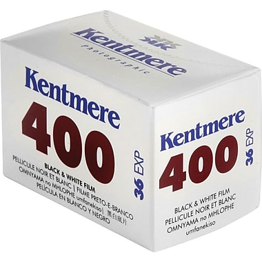 Kentmere 6010476 Black & White Cassette Film, 35 mm(W), ISO 400