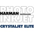 Harman Multimedia 1166899 Crystaljet Elite Inkjet Paper, 24in.(W) x 100'(L), Luster