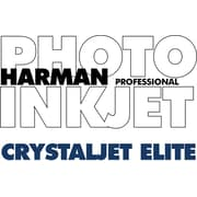 Harman Multimedia 1166857 Crystaljet Elite Inkjet Paper, 24(W) x 100'(L), Gloss