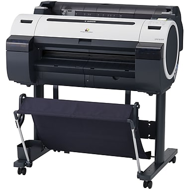 Canon® iPF650 Wide Format Printer, 24in.