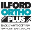 "Ilford 1813166 Orthochromatic Sheet Film, 7""(W) x 9 1/2""(L), 25 Sheets"