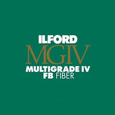 Ilford MG4FB1K Photo Paper, 12in.(W) x 16in.(L), Gloss, 50 Sheets