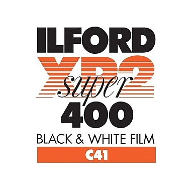Ilford 1839575 XP2 Super Black & White Film, 4 3/4in.(W) x 6 1/2in.(L)