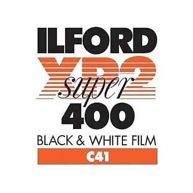 Ilford 1839575 XP2 Super Black & White Film, 4 3/4in.(W) x 6 1/2in.(L)
