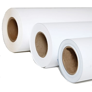 McGrann SO480 Roll Up White PET Film, 50in.(W) x 100'(L), Matte