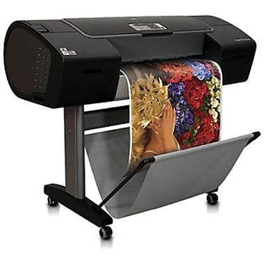 HP® Designjet Z3200PS Large Format Printer, 41in. x 49.7in. x 27.2in.