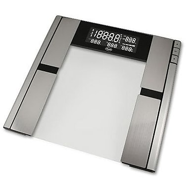 AWS® Quantum Body Fat and Water Scale, 330 lbs.