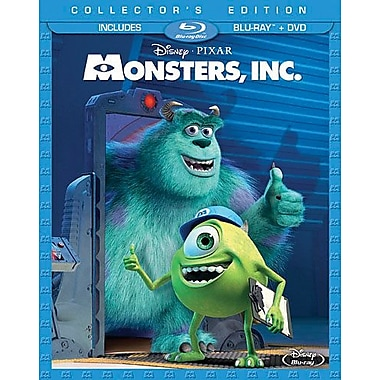 Monsters, Inc. (Blu-Ray + DVD)
