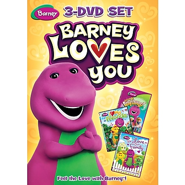 Barney Loves You - 3 Pack