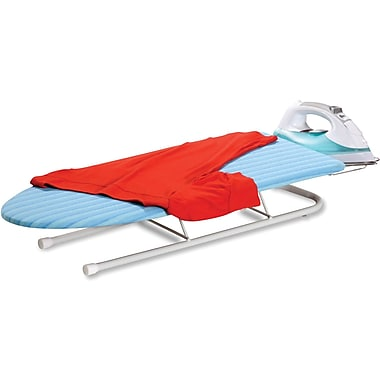 Honey Can Do® Tabletop Ironing Board with Retractable Iron Rest