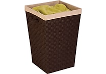 Honey Can Do Woven Strap Hamper with Liner