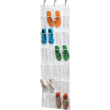 Honey Can Do 24 Pocket Otd Peva Shoe Rack