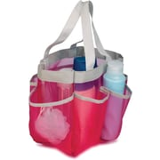 Honey Can Do 6 Pocket Shower Tote, Pink