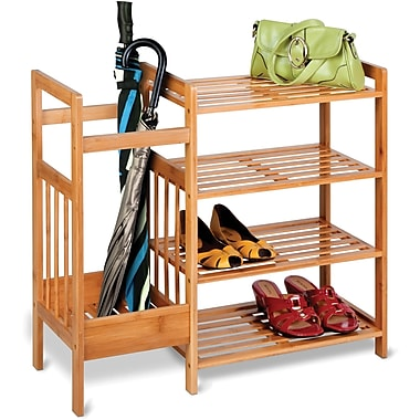 Honey Can Do Bamboo Entryway Organizer