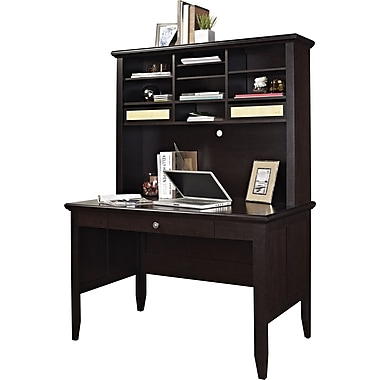 Altra Amelia Desk and Hutch, Espresso