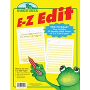 Barker Creek E-Z Edit™ Paper Packet, 5+ Age