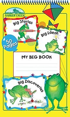 Barker Creek My Big Book Tablet 4 Age