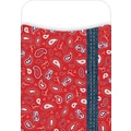Barker Creek Peel and Stick Library Pocket, Bandana Design