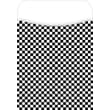 Barker Creek Library Pocket, Black Check Design